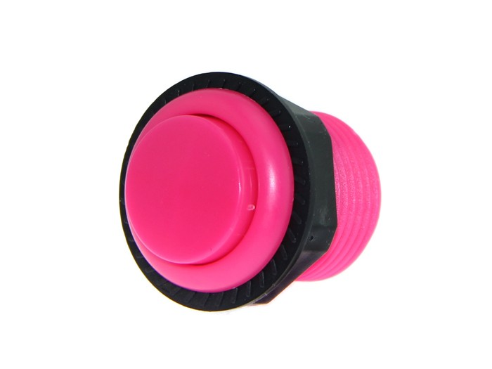 27.5mm Arcade Game Push Button - Pink (Seeed Studio)  SS311050004 Seeed Studio Australia (Feature image)