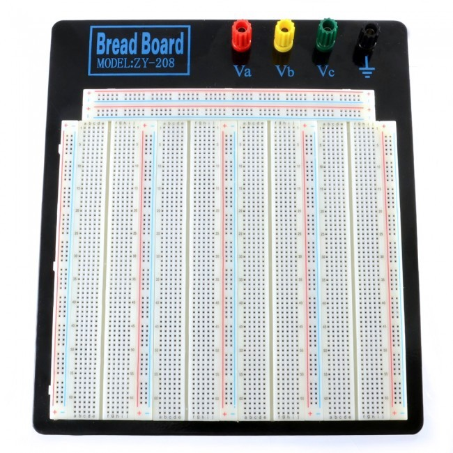 Solderless Breadboard - 3220 Tie Point (ZY-208) CE05315  (Feature image)