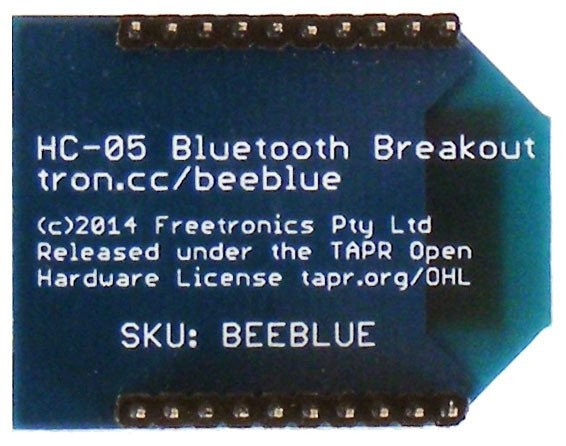 Freetronics BeeBlue Bluetooth Serial Module CE04512 Freetronics Australia (Image 3)