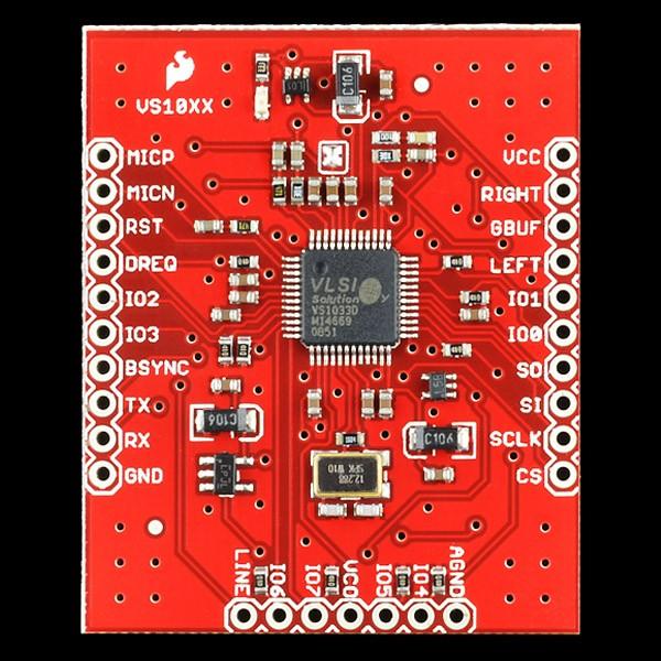 Breakout Board for VS1033D MP3 BOB-10608 Sparkfun Australia - Express Delivery Australia Wide (Image 3)