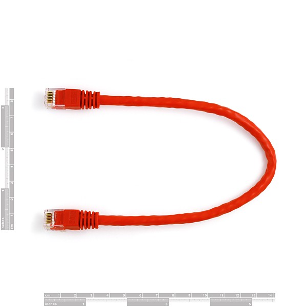 CAT 6 Cable - 1ft CAB-08918 Sparkfun Australia - Express Delivery Australia Wide (Image 2)