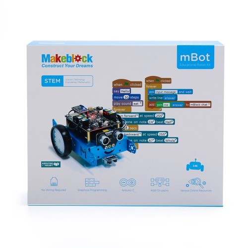Makeblock MBot V1.1- Blue (2.4G Wireless Version) CE04640 Makeblock Australia (Image 7)
