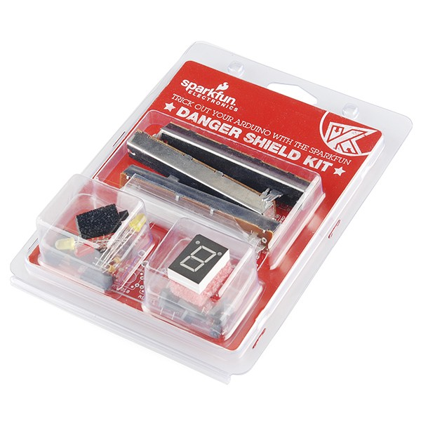 Danger Shield Kit Retail RTL-11682 Sparkfun Australia - Express Delivery Australia Wide (Image 1)