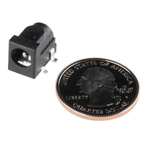 DC Barrel Power Jack/Connector (SMD) PRT-12748 Sparkfun Australia - Express Delivery Australia Wide (Image 3)