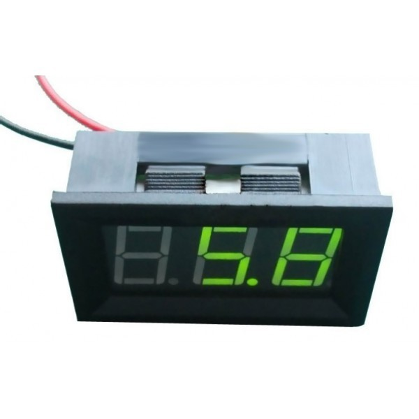 LED Voltage Meter (Green) DFR0130-G DFRobot Australia - Express Post Australia Wide (Image 1)