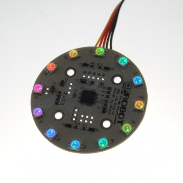 Rainbow LED Ring V3 (Arduino Compatible) DFR0141 DFRobot Australia - Express Post Australia Wide (Image 5)