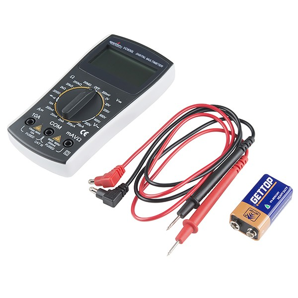 Digital Multimeter - Basic TOL-12966 Sparkfun Australia (Feature image)