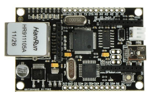 XBoard V2 - A Bridge Between Home and Internet (Arduino Compatible) DFR0162 DFRobot Australia - Express Post Australia Wide (Image 1)