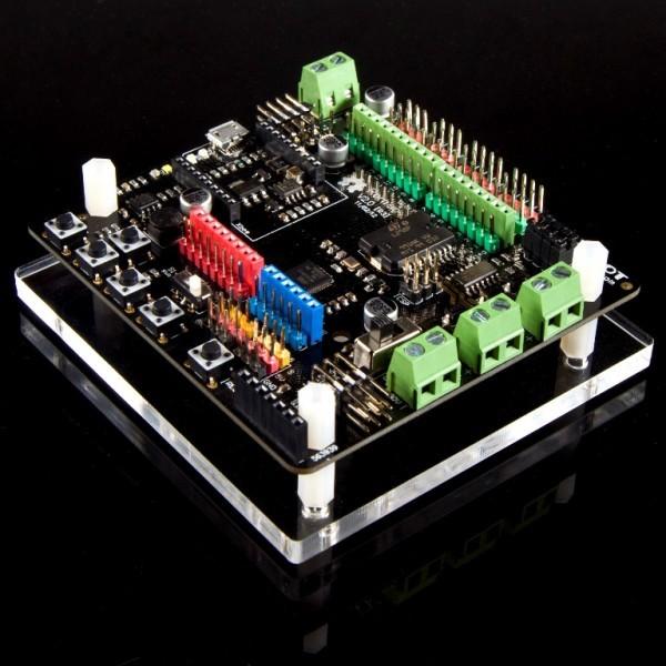 Acrylic Romeo Base - Basic DWG0004-B DFRobot Australia (Image 1)