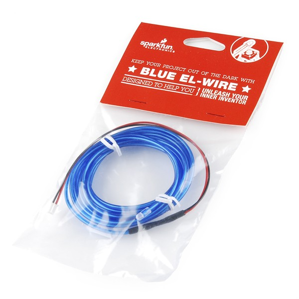 EL Wire - Blue Retail RTL-11425 Sparkfun Australia - Express Delivery Australia Wide (Feature image)
