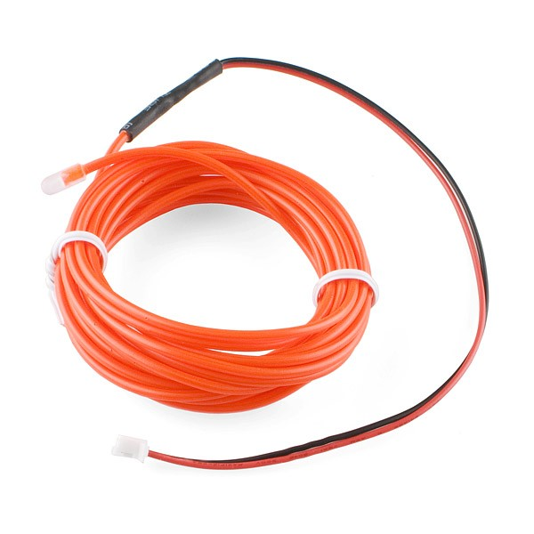EL Wire - Red 3m COM-10191 Sparkfun Australia - Express Delivery Australia Wide (Feature image)