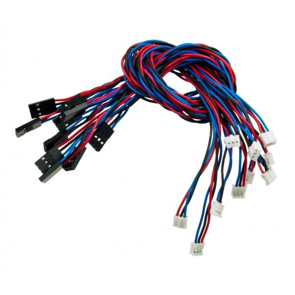 Analog Sensor Cable For Arduino (10 Pack) FIT0031 DFRobot Australia (Image 2)