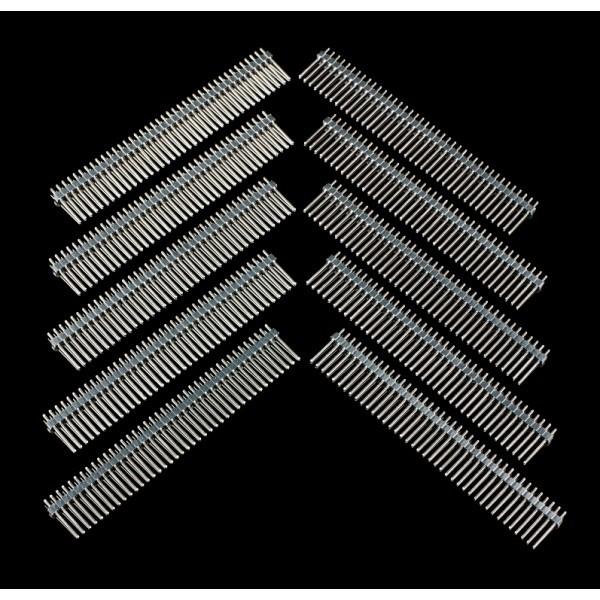 40 Pin Break Away Male Header- Long Straight-10 Pcs FIT0105 DFRobot Australia - Express Post Australia Wide (Image 3)