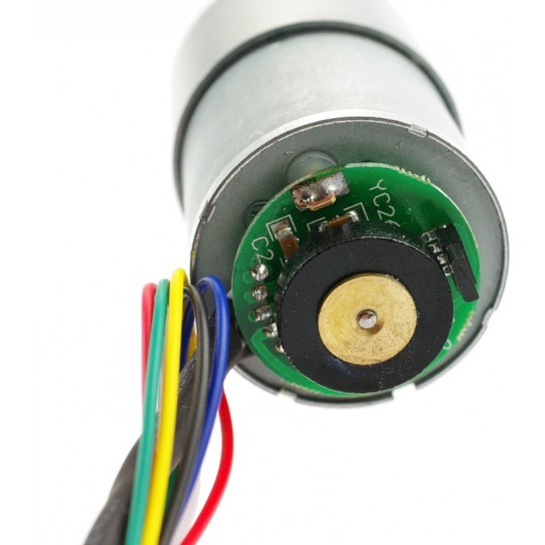 12V DC Motor 83RPM w/Encoder  FIT0185 DFRobot Australia - Express Post Australia Wide (Image 4)