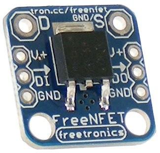 Freetronics Addressable N-MOSFET driver / output module CE04528 Freetronics Australia (Feature image)