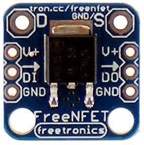 Freetronics Addressable N-MOSFET driver / output module CE04528 Freetronics Australia (Image 2)