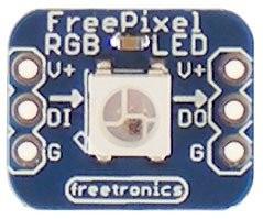 Freetronics FreePixel Addressable RGB LED Module CE04526 Freetronics Australia (Image 2)