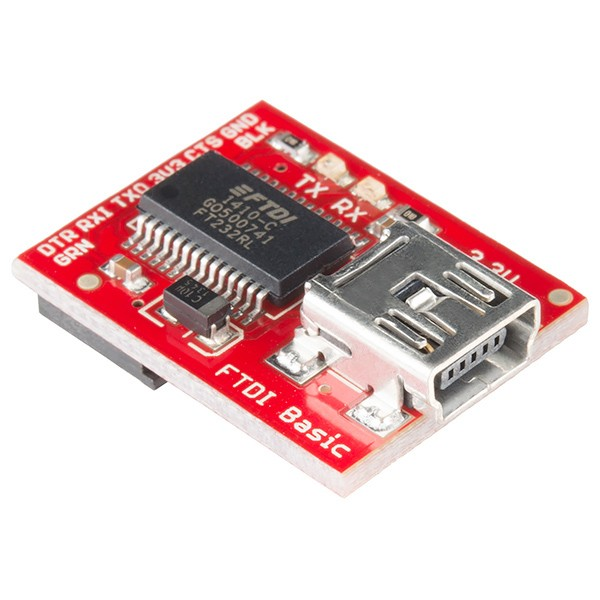 FTDI Basic Breakout - 3.3V DEV-09873 Sparkfun Australia - Express Delivery Australia Wide (Feature image)
