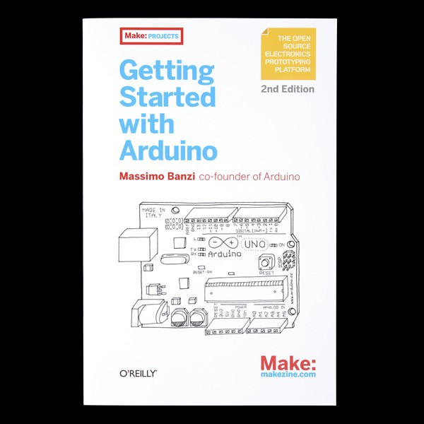 Getting Started with Arduino - 2nd Edition BOK-11471 Sparkfun Australia - Express Delivery Australia Wide (Image 2)