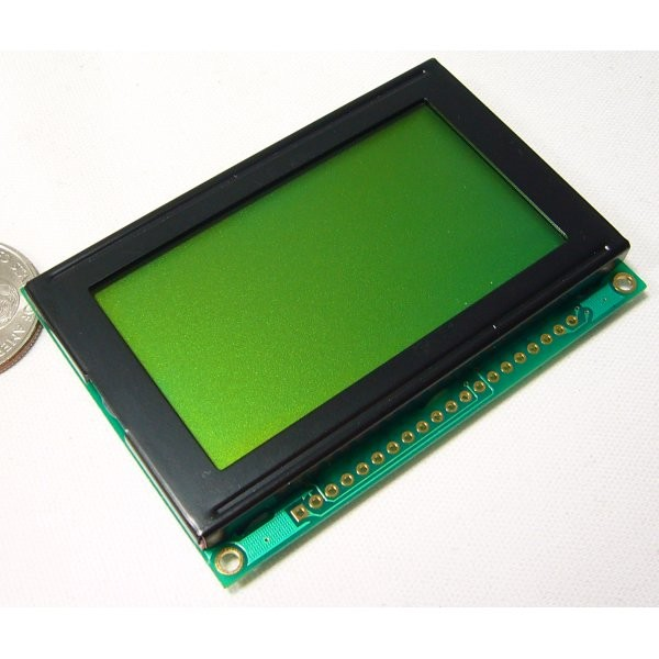 Graphic LCD 128x64 STN LED Backlight LCD-00710 Sparkfun Australia - Express Delivery Australia Wide (Image 2)