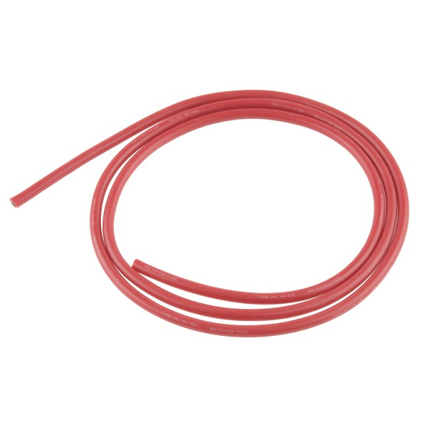 Hook-Up Wire - Silicone 12AWG (Red, 1M) PRT-13082 Sparkfun Australia - Express Delivery Australia Wide (Image 1)