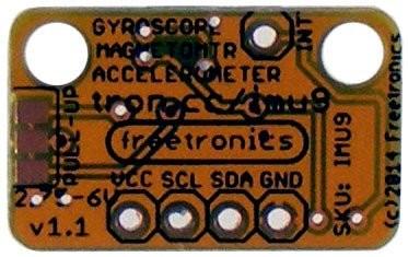 Freetronics 9-DOF IMU: Accelerometer, gyroscope, magnetometer CE04515 Freetronics Australia (Image 2)