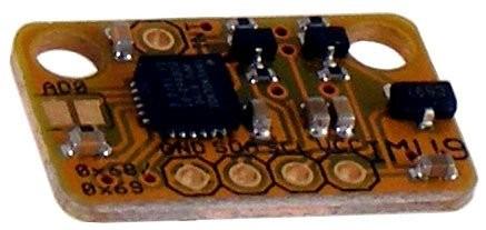 Freetronics 9-DOF IMU: Accelerometer, gyroscope, magnetometer