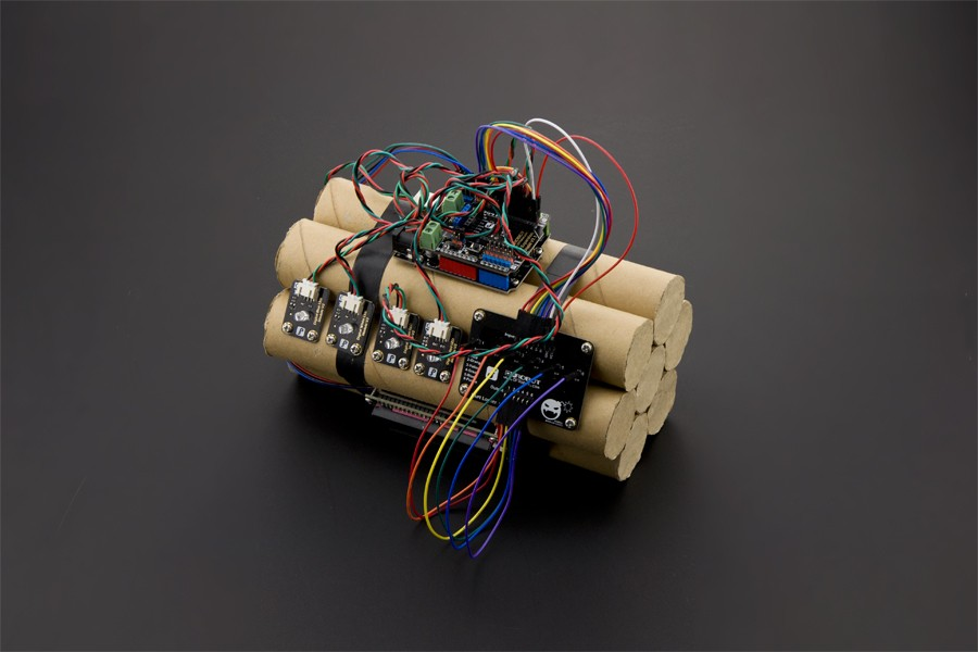 Hurt Locker (Fake Defusable Bomb) Kit KIT0080 DFRobot Australia - Express Post Australia Wide (Feature image)