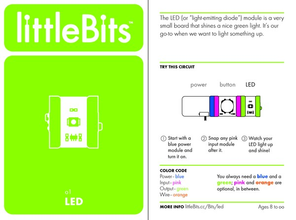 littleBits LED LBH079 Littlebits in Australia - Express Delivery Australia Wide (Image 5)