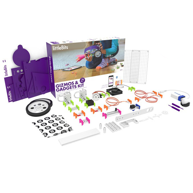 littleBits Gizmos & Gadgets Kit - 2nd Edition LBH680 Littlebits in Australia - Express Delivery Australia Wide (Image 1)