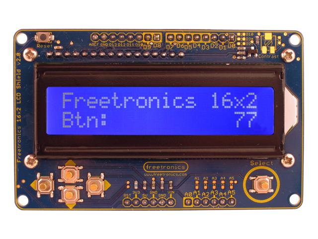 Freetronics LCD & Keypad Shield CE04490 Freetronics Australia (Feature image)