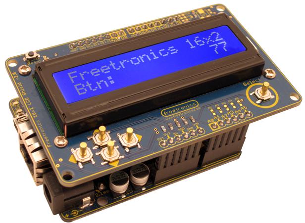 Freetronics LCD & Keypad Shield CE04490 Freetronics Australia (Image 3)
