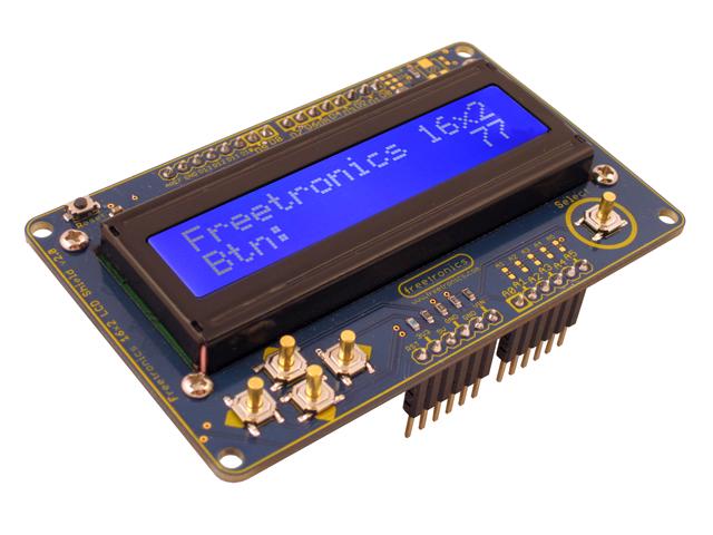 Freetronics LCD & Keypad Shield CE04490 Freetronics Australia (Image 2)