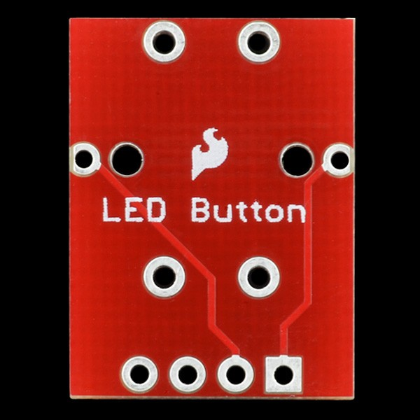 LED Tactile Button Breakout BOB-10467 Sparkfun Australia - Express Delivery Australia Wide (Image 3)