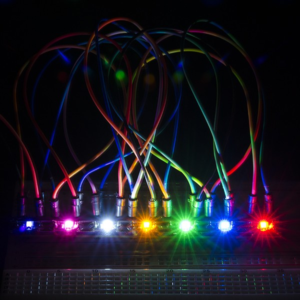 LilyPad Rainbow LED (strip of 7 colors) DEV-11842 Sparkfun Australia - Express Delivery Australia Wide (Image 5)