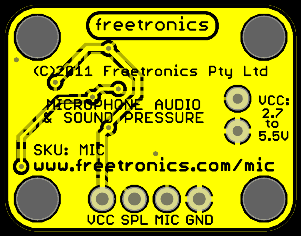Freetronics Microphone Sound Input Module CE04536 Freetronics Australia (Image 3)