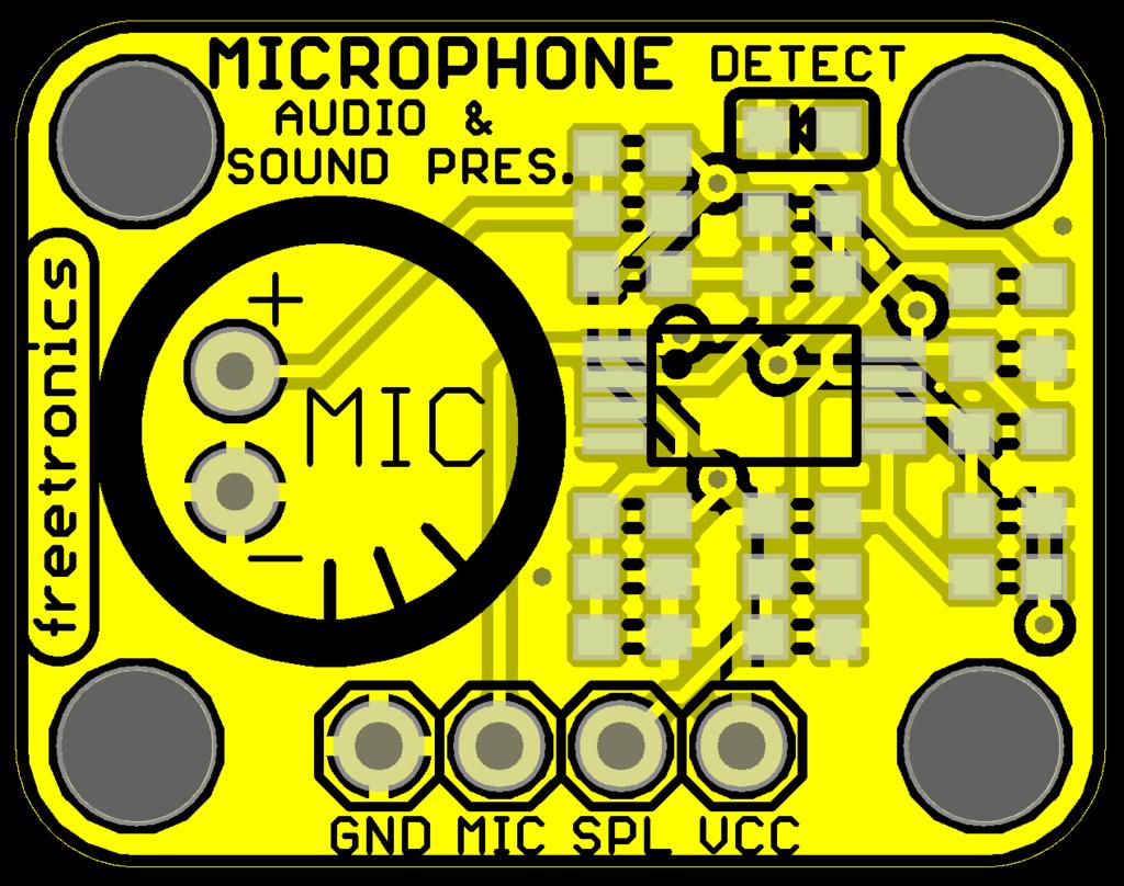 Freetronics Microphone Sound Input Module CE04536 Freetronics Australia (Image 2)
