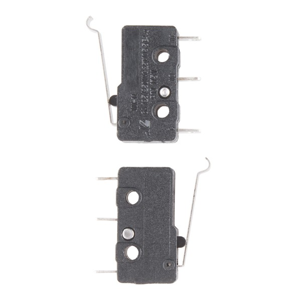 Mini Microswitch - SPDT (Offset Lever, 2-Pack) COM-13014 Sparkfun Australia - Express Delivery Australia Wide (Image 3)
