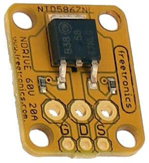 Freetronics N-MOSFET Driver / Output Module CE04538 Freetronics Australia (Feature image)