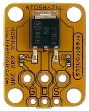 Freetronics N-MOSFET Driver / Output Module CE04538 Freetronics Australia (Image 2)