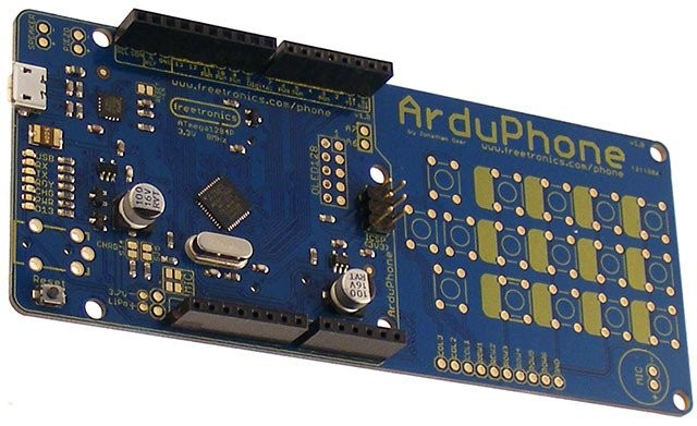 Freetronics ArduPhone Arduino Compatible Cellphone CE04575 Freetronics Australia (Image 1)