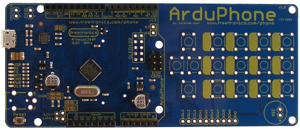 Freetronics ArduPhone Arduino Compatible Cellphone CE04575 Freetronics Australia (Image 3)