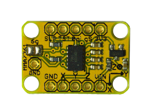 Freetronics 3-Axis Accelerometer Module CE04484 Freetronics Australia (Feature image)