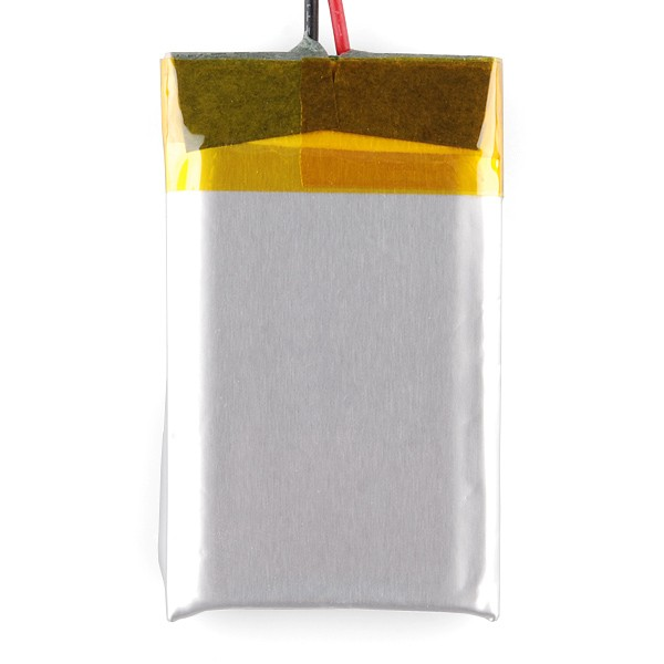 Polymer Lithium Ion Battery - 850mAh PRT-00341 Sparkfun Australia - Express Delivery Australia Wide (Image 4)