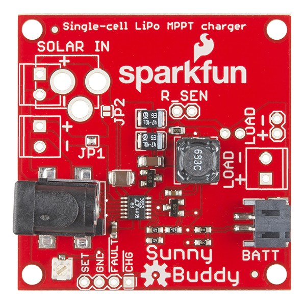 SparkFun Sunny Buddy - MPPT Solar Charger PRT-12885 Sparkfun Australia - Express Delivery Australia Wide (Image 4)