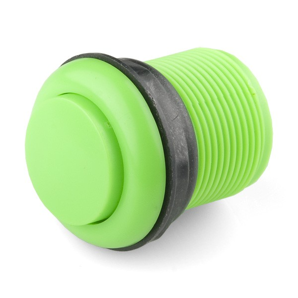 Push Button 33mm - Green COM-09179 Sparkfun Australia - Express Delivery Australia Wide (Feature image)