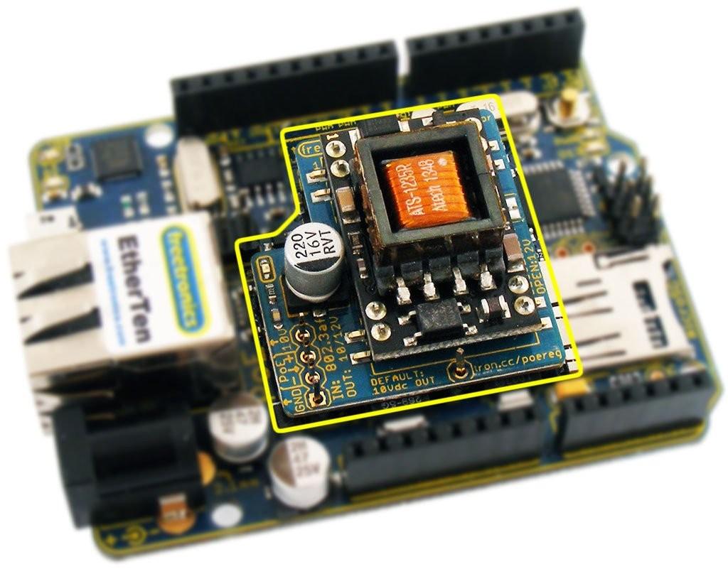 Freetronics Power-over-Ethernet Regulator 802.3af CE04499 Freetronics Australia (Image 2)