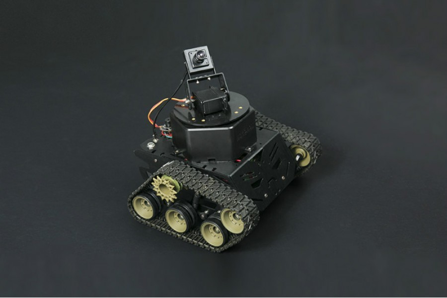 Devastator Robot Kit (Built-in WiFi Vision and Sensors) -By Intel Edison ROB0125 Intel Edison Australia (Feature image)