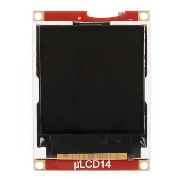 "Serial Miniature LCD Module - 1.44"" (uLCD-144-G2 GFX) LCD-11377 Sparkfun Australia - Express Delivery Australia Wide (Image 3)"