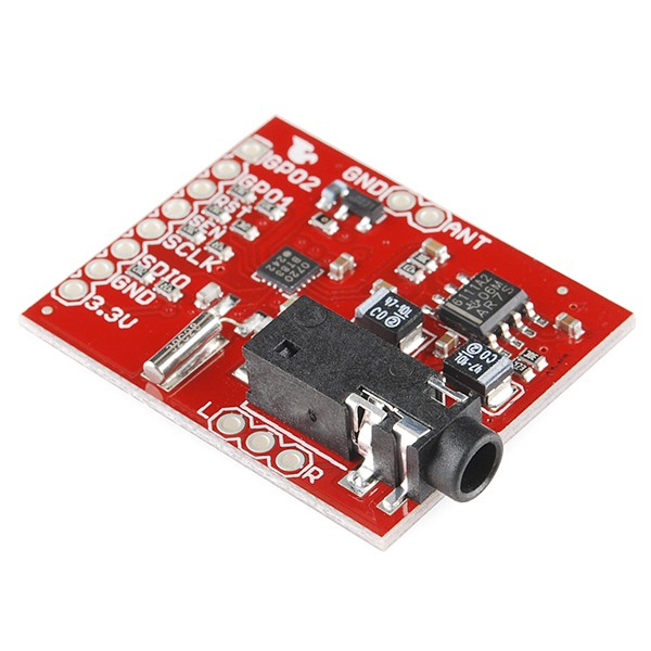 Si4707 Weather Band Receiver Breakout WRL-11129 Sparkfun Australia - Express Delivery Australia Wide (Feature image)